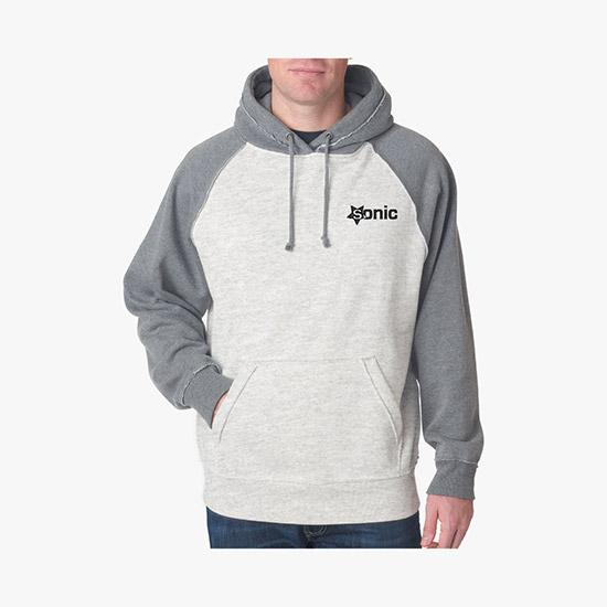 J. America Vintage Heather Hooded Sweatshirt WE-1355 24fca78b47965