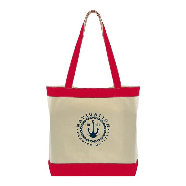 423543d95 COLOR ACCENT COTTON TOTE