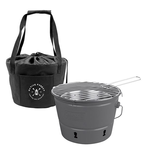 Coleman<sup>®</sup> Party Pail<sup>™</sup> Charcoal Grill With Carrying Case