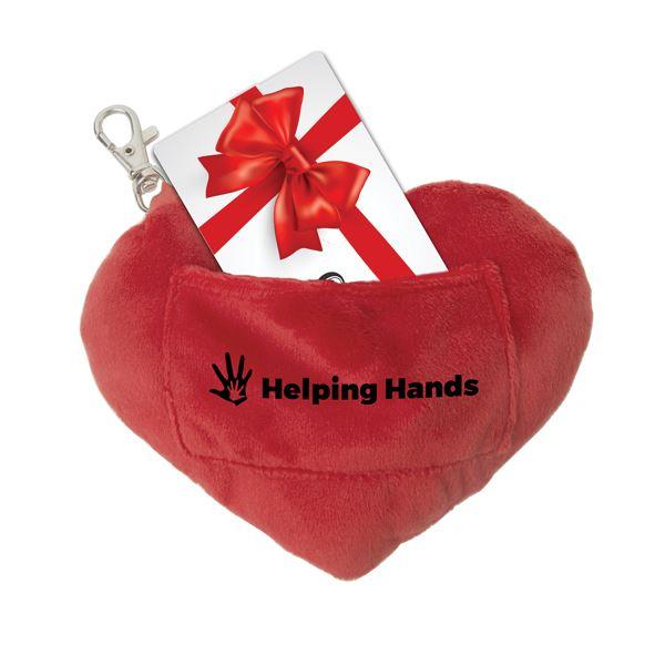 Gift Card Holder Key Chain Plush