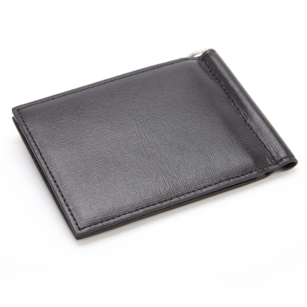 ff0cdbe8d3be RFID BLOCKING SAFFIANO LEATHER MONEY CLIP CREDIT CARD FRONT POCKET WALLET