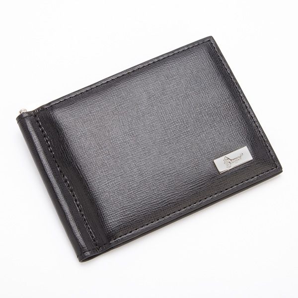 b8712d03a285 RFID BLOCKING SAFFIANO LEATHER MONEY CLIP CREDIT CARD FRONT POCKET WALLET