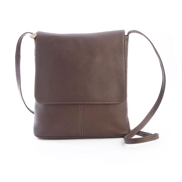 Colombian Leather Flap Over Crossbody Bag e3994823e6a81