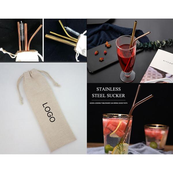 Search For Flights Cc Stainless Steel Straws Metal Beverage Straws 4 Piece Combination Bag Set Home Kitchen Supplies Kitchen,dining & Bar