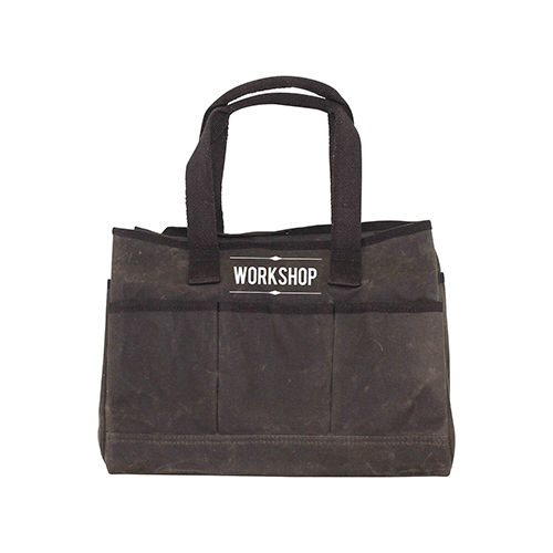 ... Web Handles, 8 outside pockets. Waxed Canvas Utility Tote Olive 3c3f64ccf4