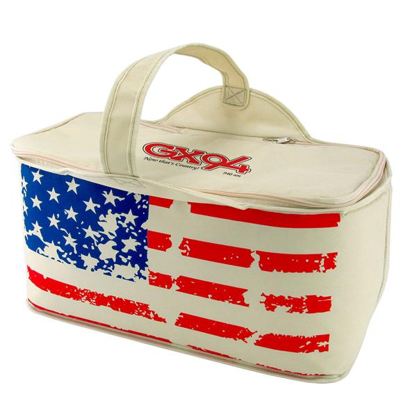 8e02a15750aa 060-PPCB Patriotic Stars & Stripes Leak Proof Cooler Bag